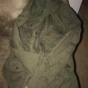 GAP Green Utility Jacket